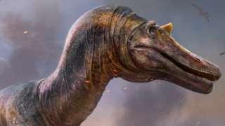 Иллюстрация - динозавр