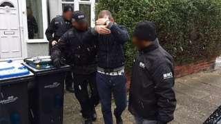 People smuggling raids
