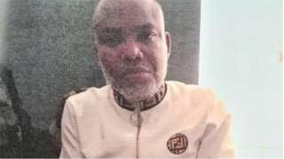 Nnamdi Kanu news today: IPOB Leader Nnamdi Kanu court hearing for Abia fail on Tuesday