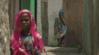 Harar street scene