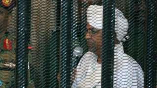 Omar al-Bashir begin cage for im trial