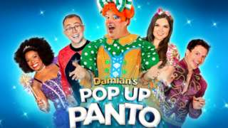 The Crucible in Sheffield still hope to host Damian's Pop Up Panto but can't currently as the city is now in tier three