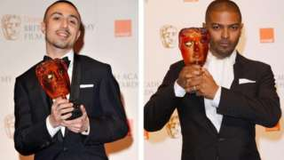 Adam Deacon and Noel Clarke