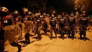 تھائی لینڈ مظاہرے