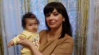 Наталья Ксендзова с дочкой