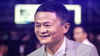 Co-founder of Alibaba Group Jack Ma .