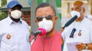 Okezie Ikpeazu, Willie Obiano, Hope Uzodimma