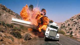 Stunt from Licence to Kill