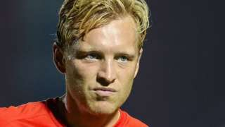 Josh Wright's first spell with Crawley was on loan from Millwall in 2014