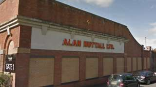 Alan Nuttall Ltd premises in Dudley