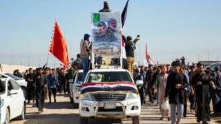 လေကြောင်း တိုက်ခိုက်ခံရလို့ အီရန်ဗိုလ်ချုပ်ကြီးနဲ့အတူ သေဆုံးသွားတဲ့ ရှီးယား လက်နက်ကိုင် ညွန့်ပေါင်းအဖွဲ့ ဒုတိယခေါင်းဆောင်ရဲ့ စျာပန