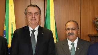 Jair Bolsonaro e Chico Rodrigues