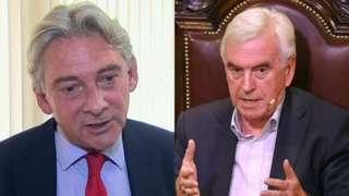 Richard Leonard and John McDonnell