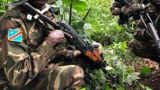 Abasirikare ba Congo