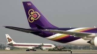 เครื่องบินการบินไทย