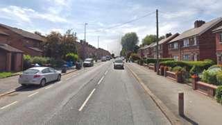 Cleggs Lane in Little Hulton,