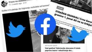 vakcine korona lažne vesti srbija crna gora