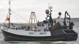 Tommy Finn's boat