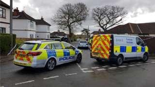 Thorpe St Andrew murder scene
