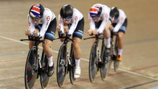 GB's women team pursuit