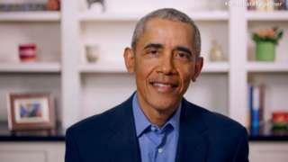 Барак Обама обратился к чернокожим выпускникам колледжей и университетов по видеосвязи