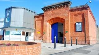 Nottingham Prison GV