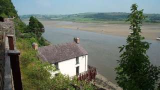 Dylan Thomas's boathouse, Laugharne
