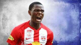 Leicester City striker Patson Daka