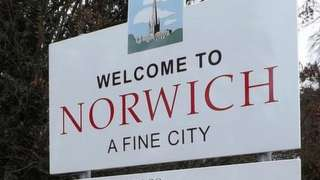 Norwich sign