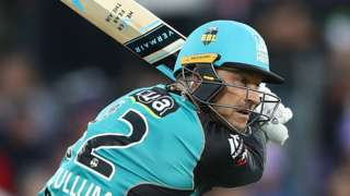 Brendon McCullum of Brisbane Heat