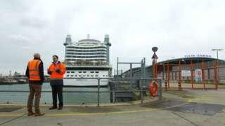 Port Director Alastair Welch