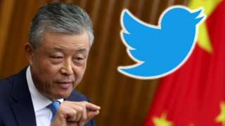 류샤오밍 주영 중국대사는 작년말부터 트위터 계정을 운영해왔다