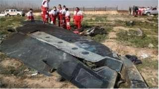 इराण विमान अपघात ब्रेकिंग