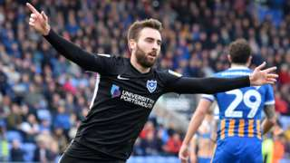 Ben Close scored Portsmouth's first goal