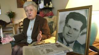 File image of Malika Boumendjel, widow of Algerian lawyer Ali Boumendjel