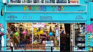 Argosy Toys shop front