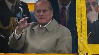 Prince Philip in Liverpool 2012