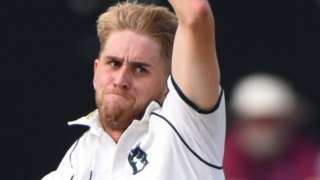 Warwickshire paceman Olly Stone