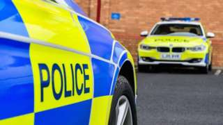 Northumbria Police cars