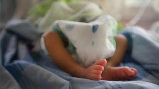 A rescued newborn