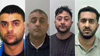 (L-R) Mohammed Ali Sultan, Mohammad Rizwan, Shafiq Younas and Amjad Hussain
