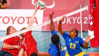 Rwanda Vs Japan Paralympics