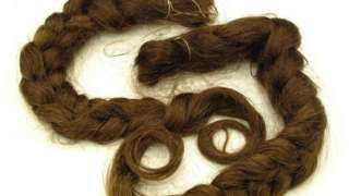 Plaits of hair from Catherine Cookson