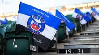 Flags at Bath's The Rec