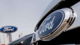 Ford car badge