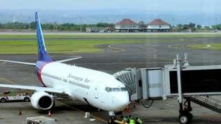 Sriwijaya Air အင်ဒိုနီးရှား လေကြောင်းက လေယာဥ်တစ်စင်း