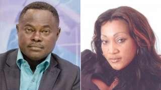 Odartey Lamptey Divorce: Gloria Appiah and Ghana footballer who DNA show all en children no be en own