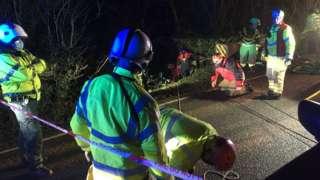 Derbyshire crash