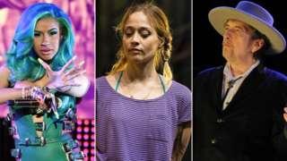 Cardi B, Fiona Apple and Bob Dylan