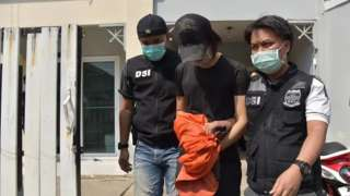 Danudetch 'Nene' Sangkaew was arrested on Feb 11, 2021 at his home office
